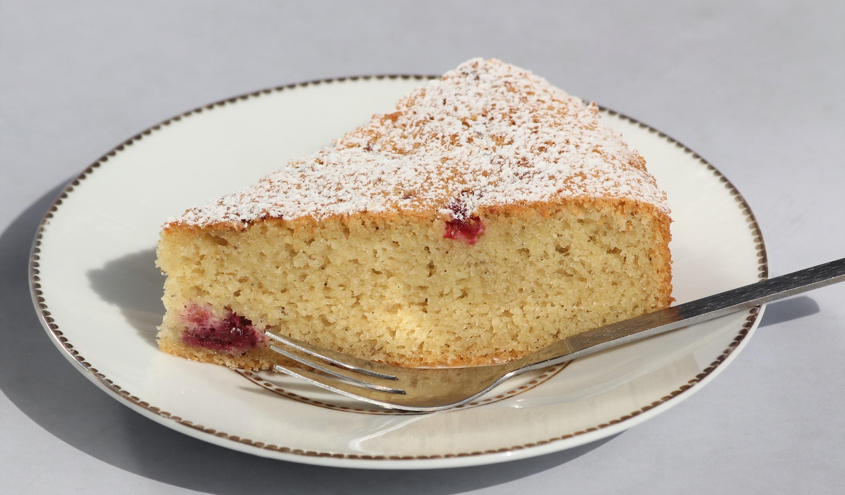 עוגת לימון ופטל ללא גלוטן צילום: אסי רוזיצנר