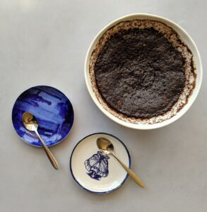 עוגת שוקולד במיקרו ללא גלוטן צילום:אסי רוזיצנר
