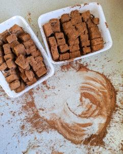 טראפלס שוקולד ללא גלוטן צילום: אסי רוזיצנר