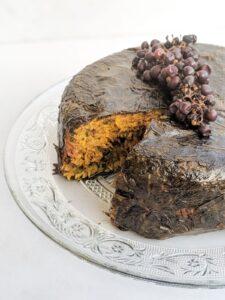 עוגת עלי גפן צילום: אסי רוזיצנר