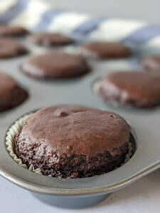 מאפינס דאבל שוקולד טבעוני צילום: אסי רוז