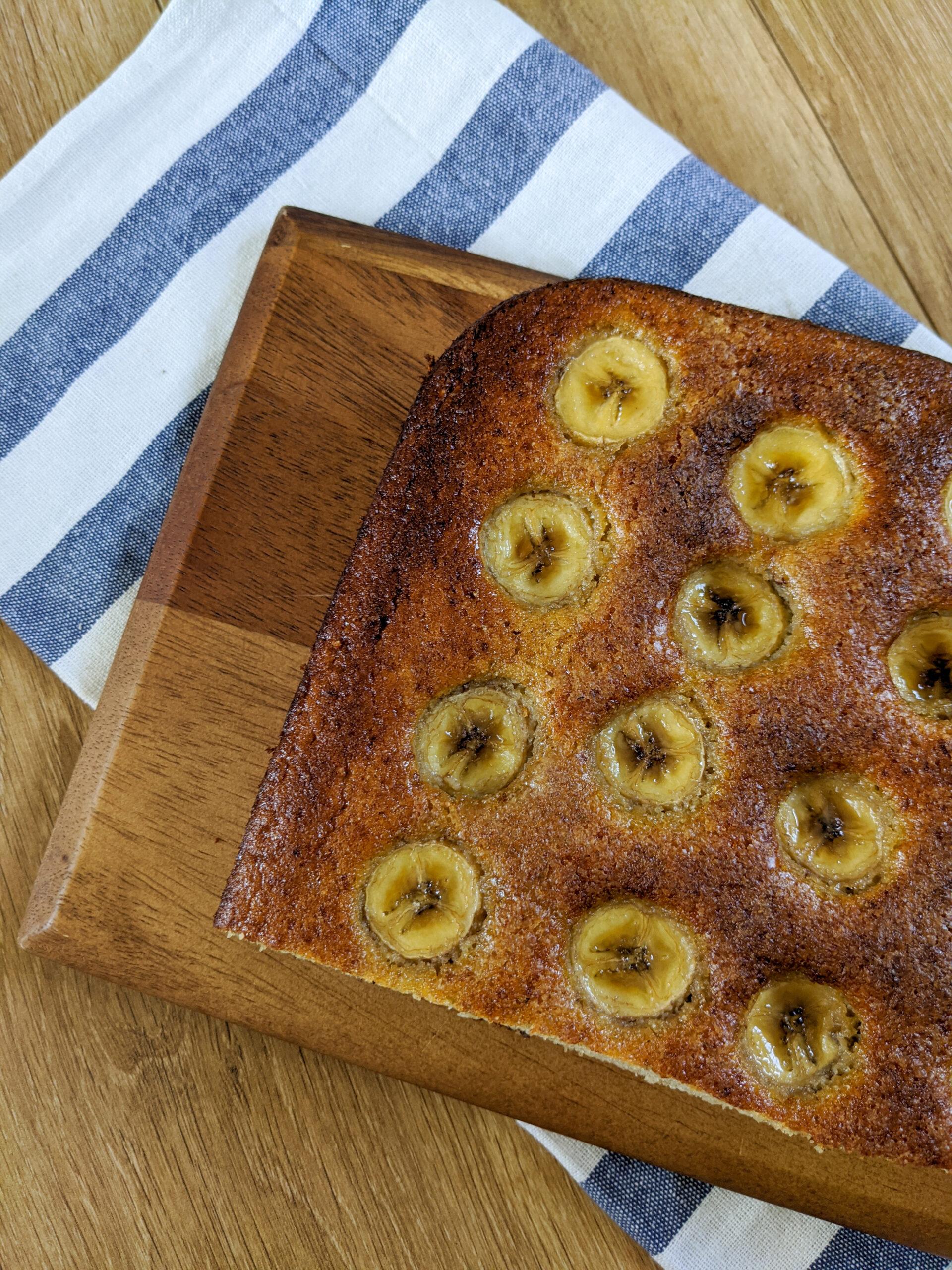 עוגת בננה מייפל פקאן ללא סוכר צילום:אסי רוז