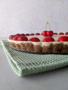 עוגת גבינה טבעונית ללא גלוטן צילום: אסי רוז